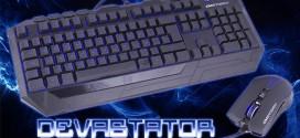 Devastator: Ratón y teclado gaming para todos