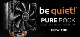 be quiet! Pure Rock: El cooler que combina rendimiento y buen precio
