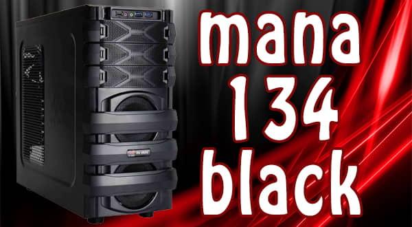 In Win Mana 134 Black