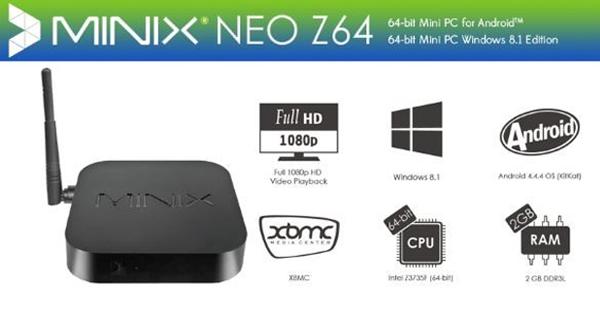 Minix Neo Z64 de Android TV a Mini-PC
