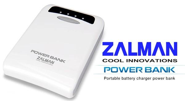 Batería portátil Zalman 8400 y 11200 mAh