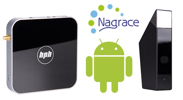 Android TV Nagrace - los reproductores definitivos.