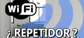 ¿Cómo utilizar un repetidor WiFi?