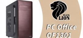 Cajas Black Lion PC Office OF1301 – La estética llevada a su máximo apogeo