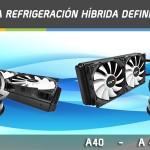 Cryorig A40 y A40 Ultimate – Sistemas de refrigeración híbrida
