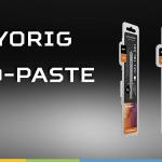 Cryorig lanza sus nuevas masillas térmicas para todo tipo de usuarios