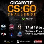 Torneo GIGABYTE CS:GO Challenge en Madrid