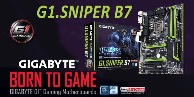 Gigabyte G1 Sniper B7 - La placa base que esperabas