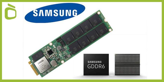 Memoria GDDR6 Samsung 16 Gb