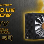High Power Astro Lite 750W 80Plus Gold modular