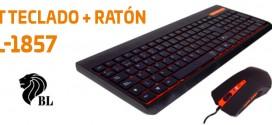BL presenta un kit de teclado + ratón Home Advance de bajo precio