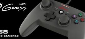 Natec Genesis P58 es el gamepad con el que te encantará jugar