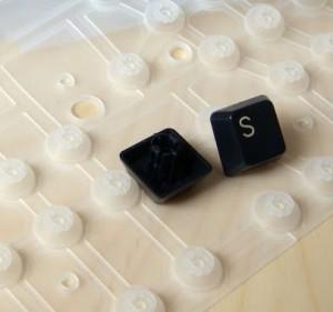 tipos de teclados de membrana