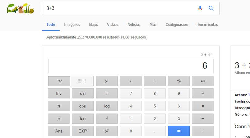 comandos de busqueda avanzada calculadora de google