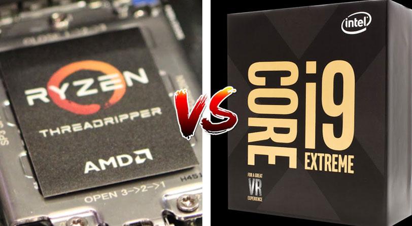 Fechas para los nuevos Threadripper de AMD y los i9 de Intel