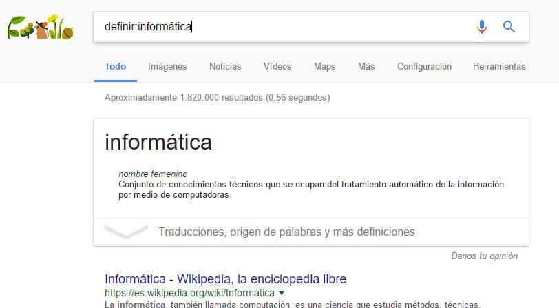 definir busqueda avanzada google