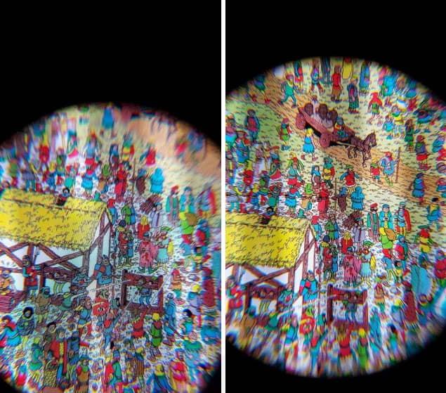 diferencias samsung paneles VR
