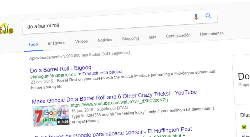 do a barrel roll juegos google