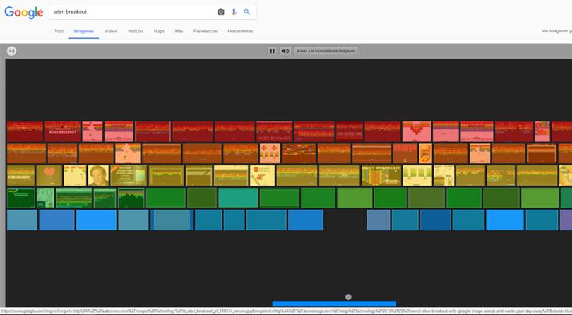 google breakout arkanoid juegos
