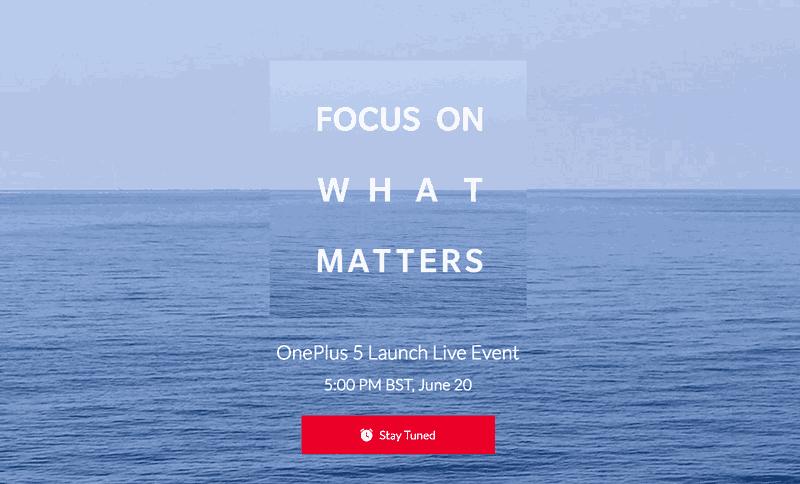 OnePlus 5 fecha de lanzamiento