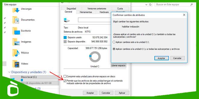 Mejorar rendimiento PC lento Windows