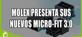 Molex presenta sus nuevos conectores Micro-Fit 3.0