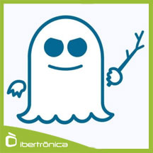 IntelGate logo de Spectre. Fantasma.