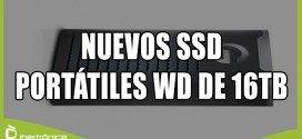 Todo sobre los nuevos SSD externos de Western Digital de 16 Gb